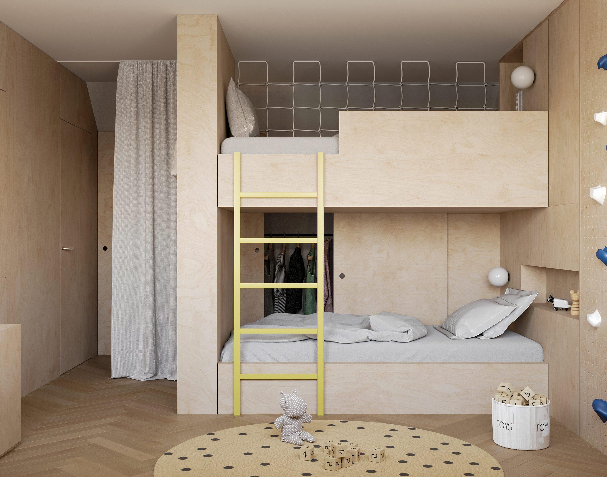 detská izba 2B